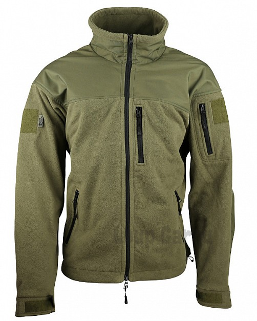 bunda DEFENDER TACTICAL FLEECE olivová