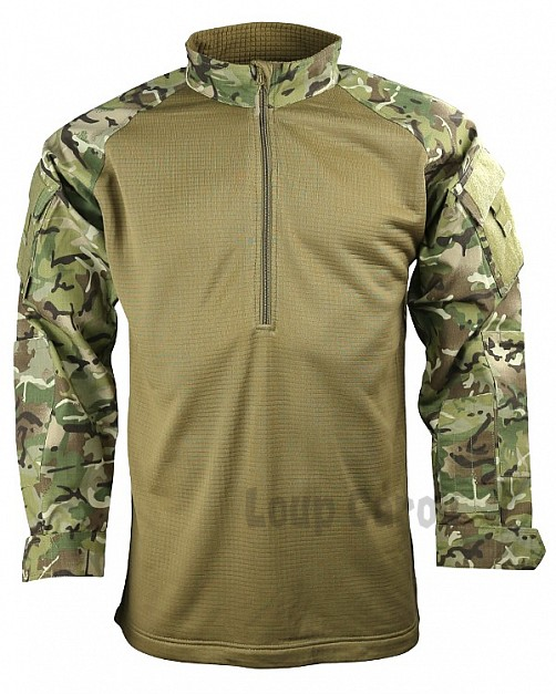 triko UBACS BTP MULTICAM FLEECE