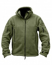 bunda RECON TACTICAL HOODIE FLEECE olivová