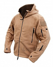 bunda RECON TACTICAL HOODIE FLEECE COYOTE