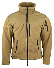 bunda DEFENDER TACTICAL FLEECE COYOTE