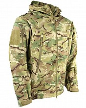 bunda SOFTSHELL HOODED PATRIOT BTP MULTICAM